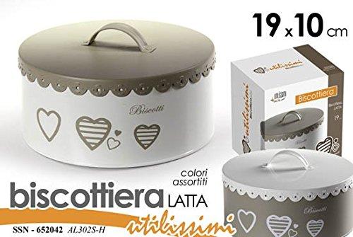 BISCOTTIERA LATTA CUORE D.19XH10 652042