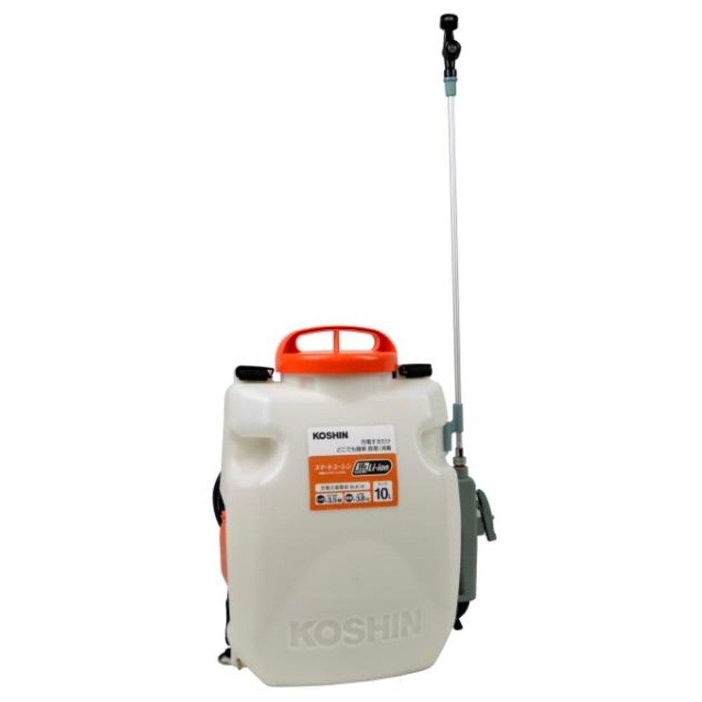 工進 充電式噴霧器 SLS-10 バッテリー充電器付 B07BHT4XYW   タンク容量:10