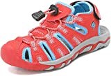 DREAM PAIRS Boys Girls Toddler 160912-K Coral Mint Light Grey Outdoor Summer Sandals Size 8 M US Toddler