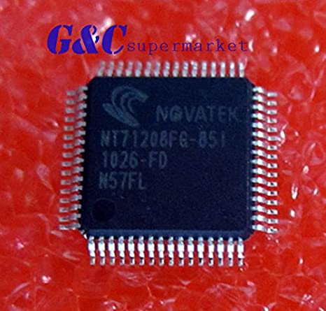 AST Works 1PCS IC NT71208FG-904 TQFP64 NOVATEK New high