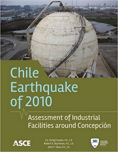 Chili Earthquake 2010 Assessment Of Industrial Facilities Around