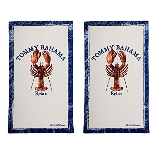 Tommy Bahama Relax Lobster 2-Piece Beach Towel Set by Tommy Bahama