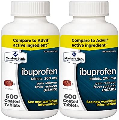 Pain Relievers: Member's Mark Ibuprofen
