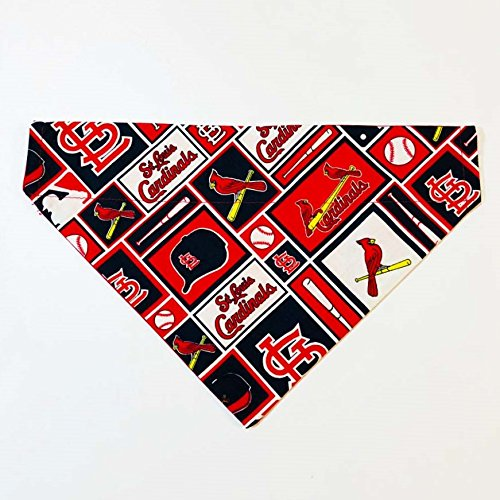 St. Louis Cardinals Dog Bandana No-Tie by Barking Bad Bakery and Boutique