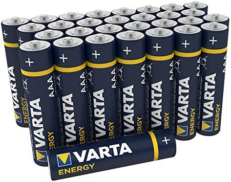Varta Energy - Pack de 30 Pilas Alcalinas AAA / LR03 / Micro