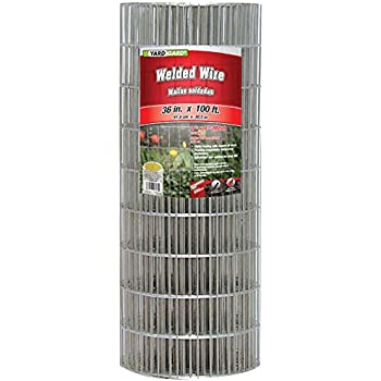 Amazon.com : YARDGARD 308312B 48 Inch by 100 Foot Galvanized ...