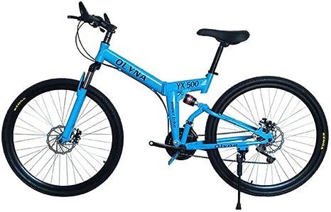 Bicicleta De Montaña Plegable De 26 Pulgadas: Amortiguador De ...