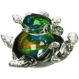 Dale Tiffany AS14072 Colorful Sea Turtle Figurine
