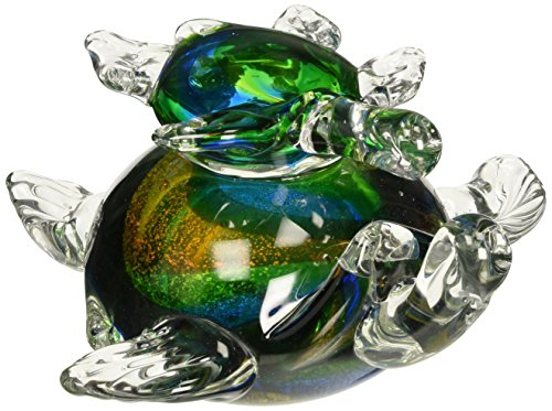 Dale Tiffany AS14072 Colorful Sea Turtle Figurine