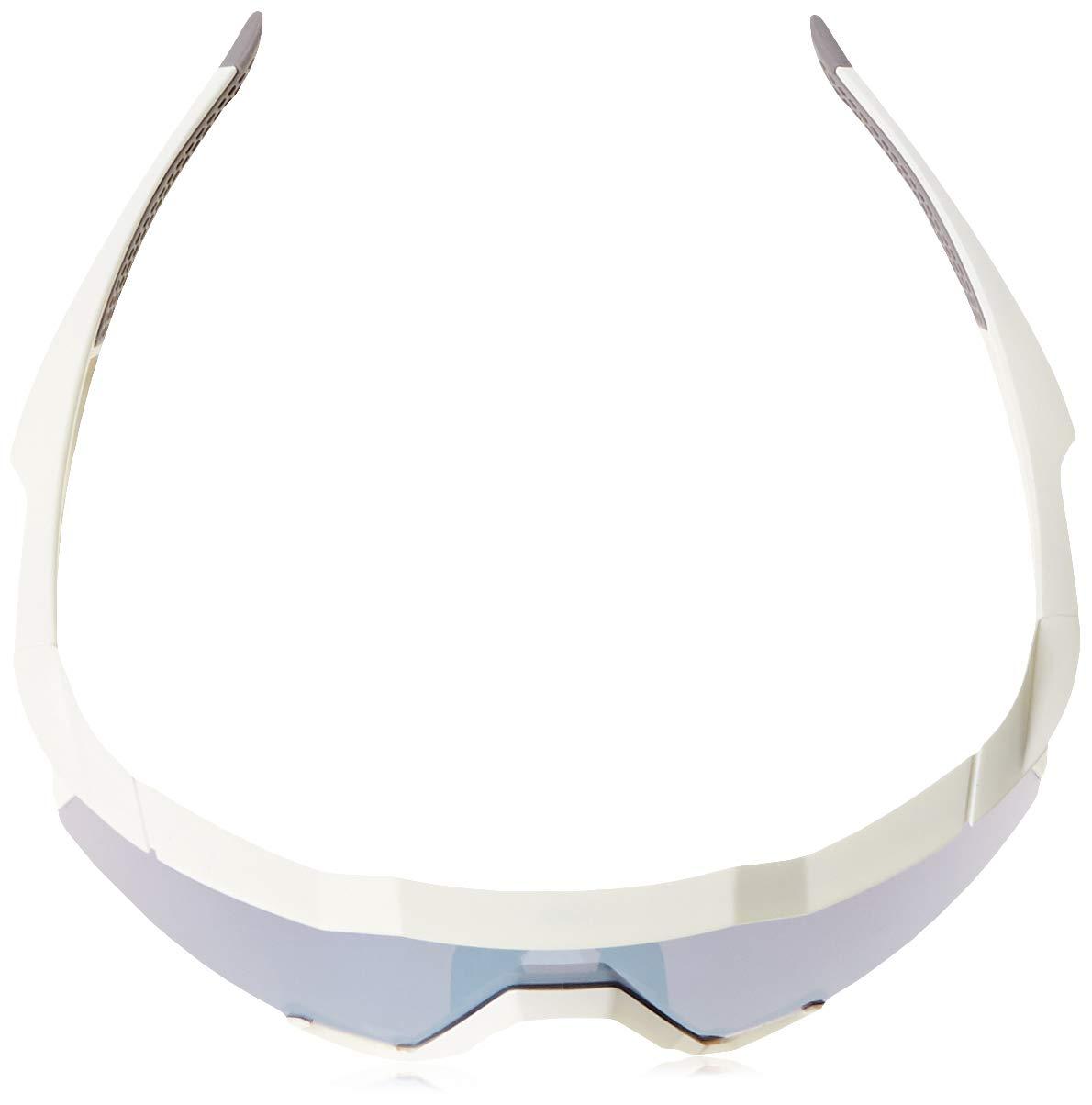 100% Unisex-Adult Speedlab (61001-000-75) Speedcraft-Matte White-HiPER Blue Multilayer Mirror Lens, Free Size) by 100% (Image #4)