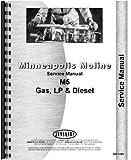 Minneapolis Moline Tractor Service Manual (MM-S-M5)