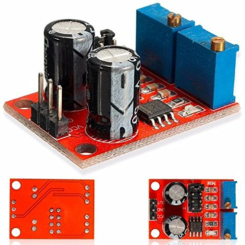 Frequency Generator Module Frequency Modulation System - 10pcs NE555 Pulse Frequey Duty Cycle Adjustable Module Square Wave Signal Generator Stepper Motor Driver ( Radio Frequency Module) by Unknown