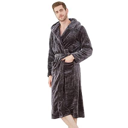 MERRYHE Bata De Baño Gryffindor con Capucha para Hombres/Mujeres Bañador De Franela con Cuello