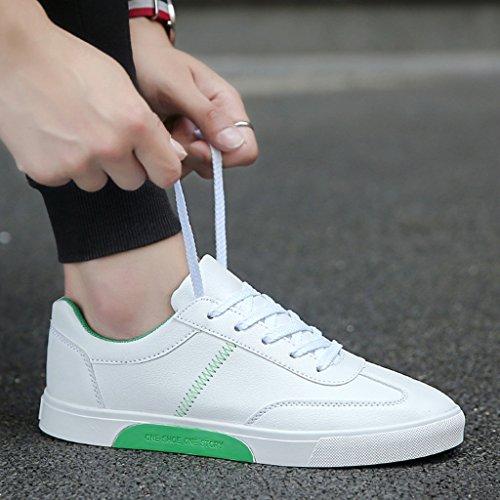 Color low estive nuove cut bianche sportive Scarpe traspiranti coreano scarpe Red basse da Scarpe Size Espadrillas scarpe stile scarpe di da da stile uomo Green 42 uomo uomo casual wqBSxTnTCg