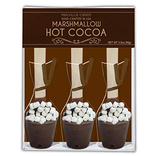 Hot Chocolate Maker Spoon With Mini Marshmallow (3-3Ct Gift Set)