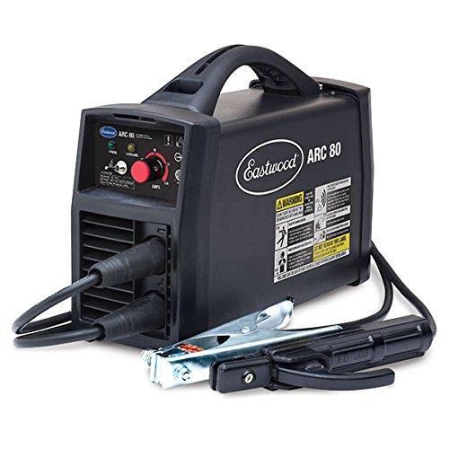 Eastwood Arc 80 Inverter Stick Welder Mig/Stick Welder Hot Start Handheld Electric Arc Welder Anti-Stick 110 Volt