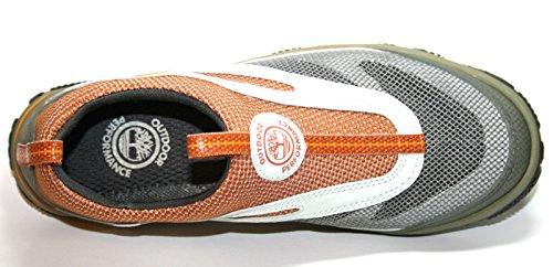 Timberland - Mocasines de Material Sintético para hombre Varios Colores multicolor 40 Varios Colores - Grau/Orange