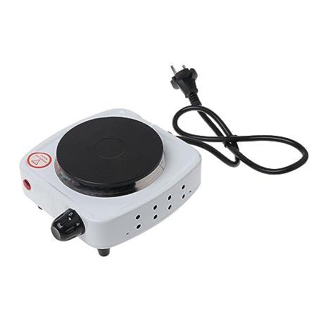 Dabixx 500W Mini Cocina Cocina Placa café Leche Calentador eléctrica Parrilla Quemador Herramientas