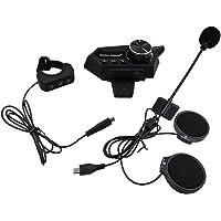 Fone de ouvido para capacete, Romacci Fone de ouvido para capacete de motocicleta Fone de ouvido sem fio Bluetooth 5.0…