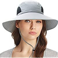 Waterproof Sun Hat Outdoor UV Protection Bucket Mesh Boonie Hat Adjustable Fishing Cap