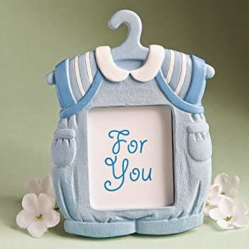 Amazon.com: 50 Cute Baby Themed Photo Frame Favors - Boy: Kitchen ...