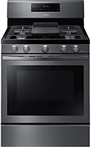 Samsung NX58R5601SG / NX58R5601SG/AA / NX58R5601SG/AA 5.8 cu. ft. Black Stainless Freestanding Gas Range with Convection