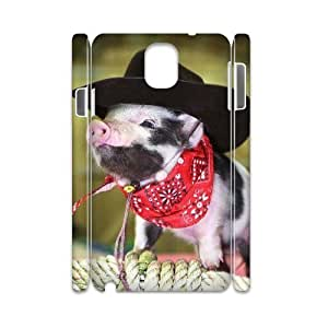 VNCASE Cute Pig Phone Case For samsung galaxy note 3 N9000 [Pattern-2]