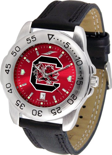 Linkswalker Mens South Carolina Gamecocks Sport Anochrome Watch