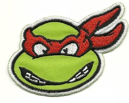 Teenage Mutant Ninja Turtles RAPHAEL Iron On/Sew On Patch