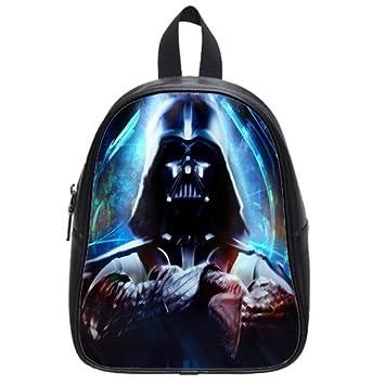 Personalizado Darth Vader Star Wars Mochila Mochila Escolar Casual sintética de viaje de piel: Amazon.es: Electrónica