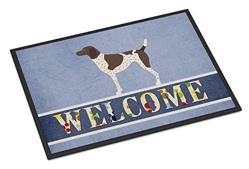 Caroline's Treasures German Shorthaired Pointer Welcome Doormat 24