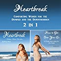 Heartbreak: Comforting Words for the Dumped and the Downtrodden 2-in-1 Audiobook by Cammy Dawson Narrated by Kelly McGee
