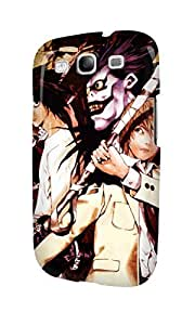 S30652 Death Note Glossy Case Cover For Galaxy S3 by runtopwell
