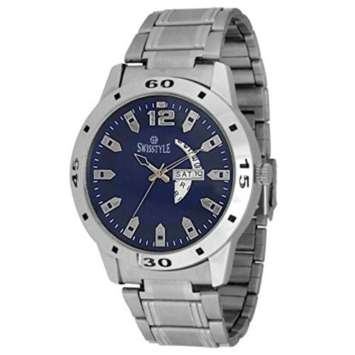 Swisstyle Day and Date Ss-Gr1181-Blu-Ch analog watch