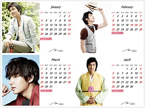 Image result for lee min ho 2017 calendar