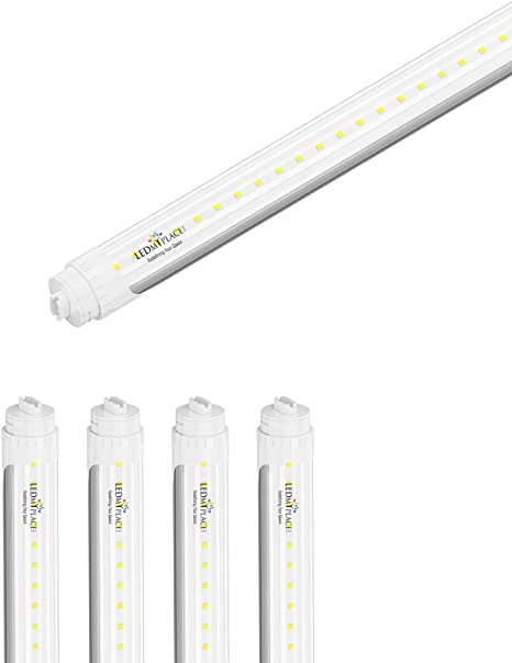 """G13 5FT 48W 6500K CLEAR T8 60/"""" F58WT8 Replacement LED Bulb tube Light"""