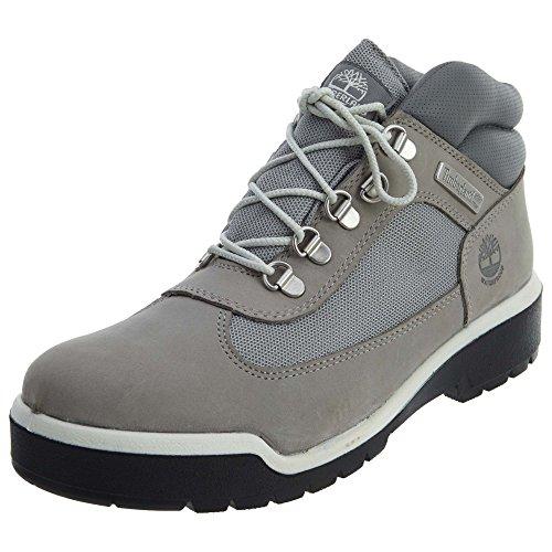 (Timberland Field Boot Waterproof Mens Shoes Grey tb0a1jfs (9.5 D(M) US))