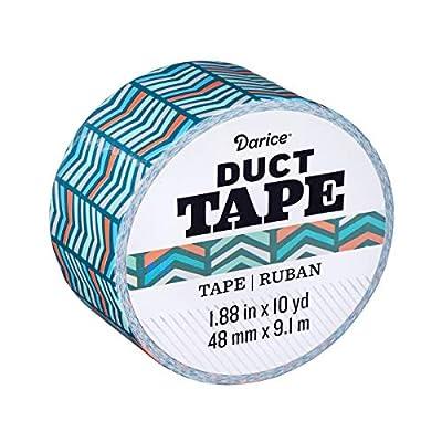 Darice Patterned Duct Tape: Herringbone, 1.88 Inches x 10 Yards from Darice