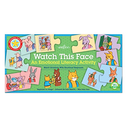 eeBoo Watch This Face, Emotions Literacy Matching Game