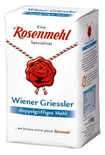 Rosenmehl Wiener Grieserl, 10er Pack (10x 1 kg)
