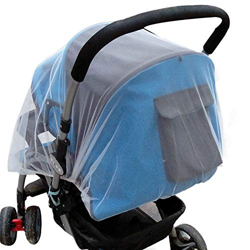 Clothful  Summer Safe Baby Carriage Insect Full Cover Mosquito Net Baby Stroller Bed Netti