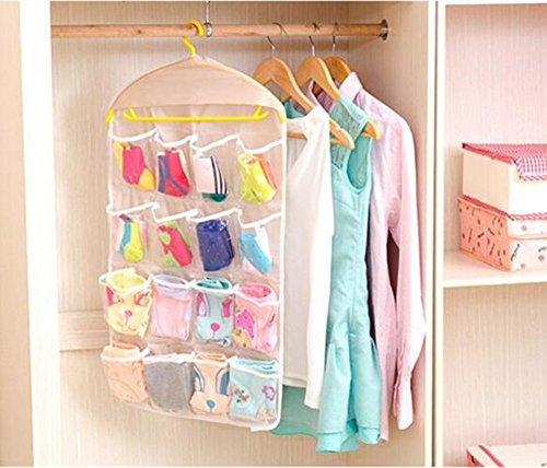 Gobuy 16 Pocket Over the Door Wall Hanging Storage Without the Hanger ()