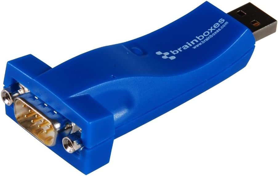 Brainboxes US-10102 USB 1XRS232 1MBAUD USB TO SERIAL WITH 19IN CABLE