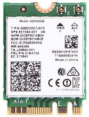 Intel Dual Band Wireless-Ac 8265 w/ Bluetooth 8265.NGWMG