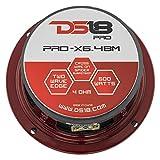"""DS18 PRO-X6BM Loudspeaker - 6.5"""", Midrange, Red"""