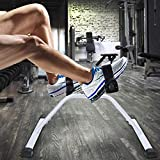 Owme Mini Fitness Cycle - Foot Pedal Exerciser - Foldable Portable Foot, Hand, Arm, Leg Exercise Pedaling Machine - Folding Stationary Bike Pedaler Fitness Gym Equipment for Seniors Home Gym