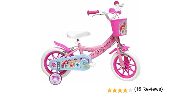 Denver Srl. Disney - Bicicleta con ruedines y Cesta: Amazon.es ...