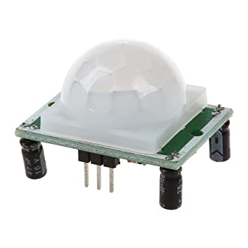 SODIAL IR detector module motion infrared detector 7 meters White + Green - - Amazon.com