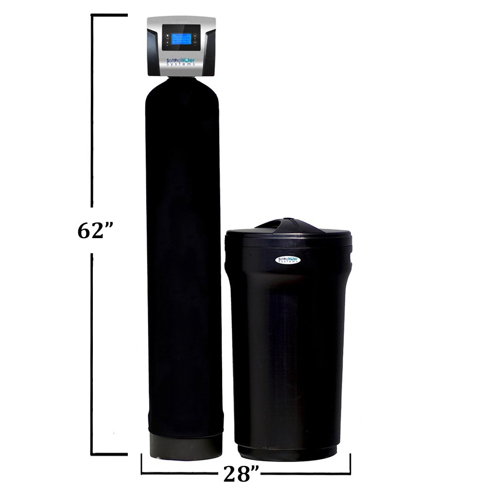 SoftPro Elite Plus High Efficiency Water Softener Filtration Combo For Hard  Water Treatment 48, 000 Grain - - Amazon.com