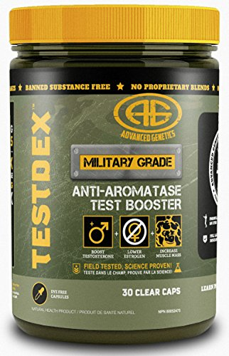 TestDex - Test/Anti-A, Tongkat Ali, Trans-Resveratrol, Natural, Anti-Oxidant, One Month Supply (Best Testosterone Booster Canada)